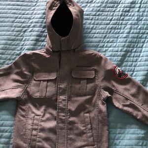 NWT boys jacket with hood